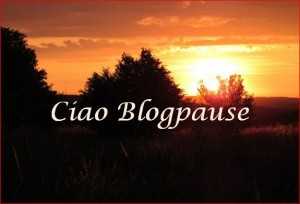 Ciao Blogpause